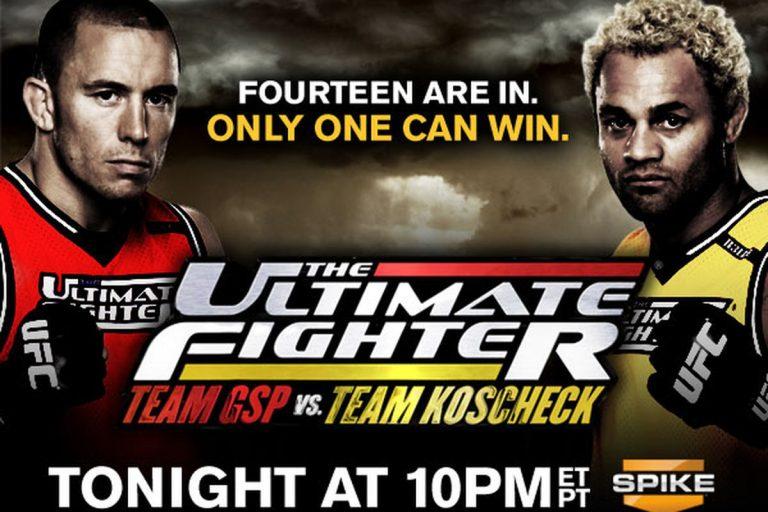 The Ultimate Fighter 12: Team GSP vs Team Koscheck