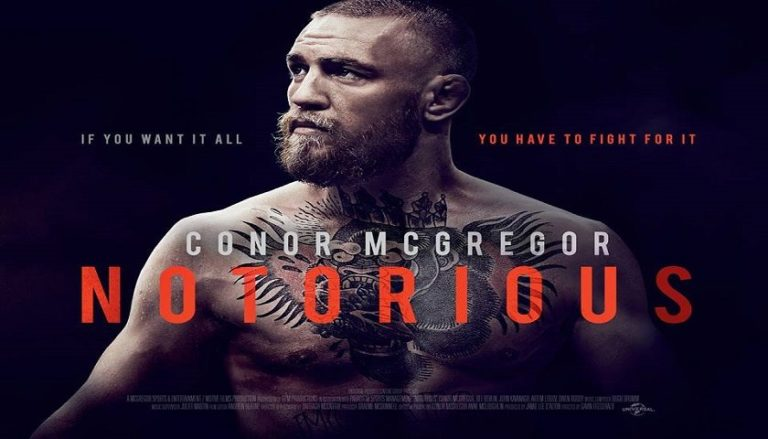 Universal Confirm Conor McGregor Movie Set For Release