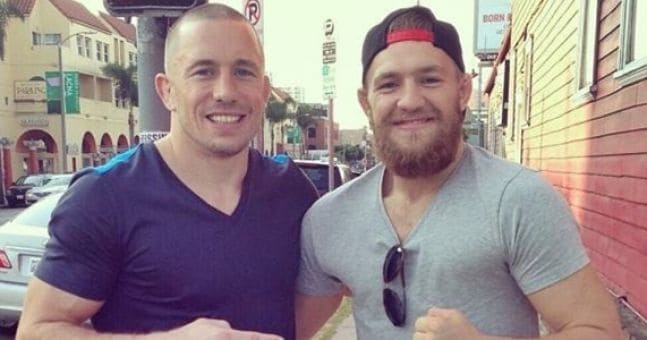Conor McGregor and Georges St-Pierre Will Light up the UFC in 2018