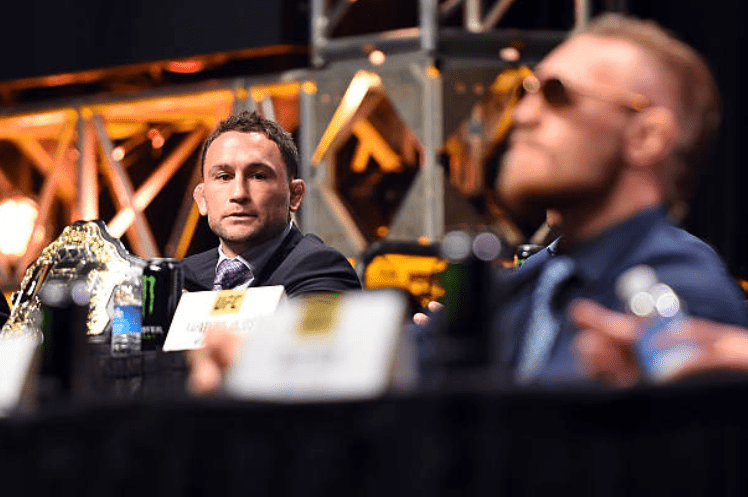 Frankie Edgar Ready to Fight Conor McGregor 'Anytime, Anywhere'