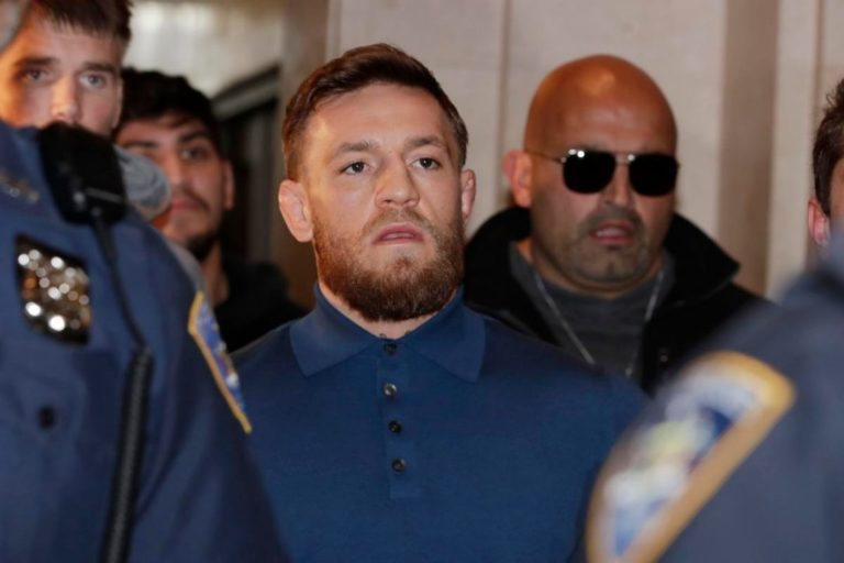 Outcry as Bottom Half of Conor McGregor Arrested in Starbucks