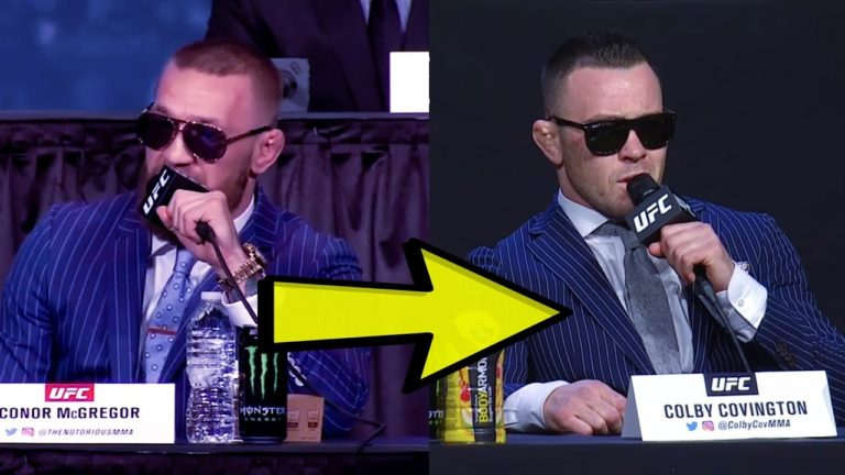 Colby Covington Now Speaking with Irish Accent Like Hero Conor McGregor