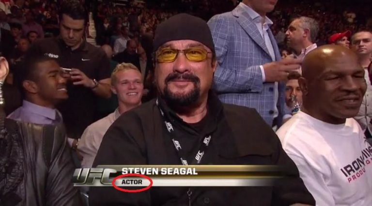 """Serial Liar Steven Seagal on Conor McGregor: """"I Taught him Everything"""""""